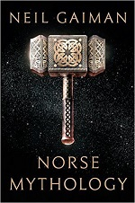 book cover with thor's hammer