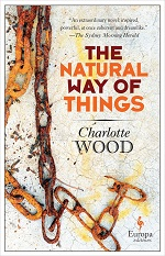 Book cover with rusty chains